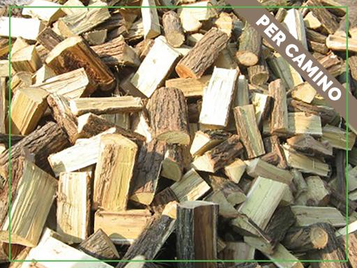 Legna di Robinia (consegnata sfusa con ribaltabile) – Bosco Verde